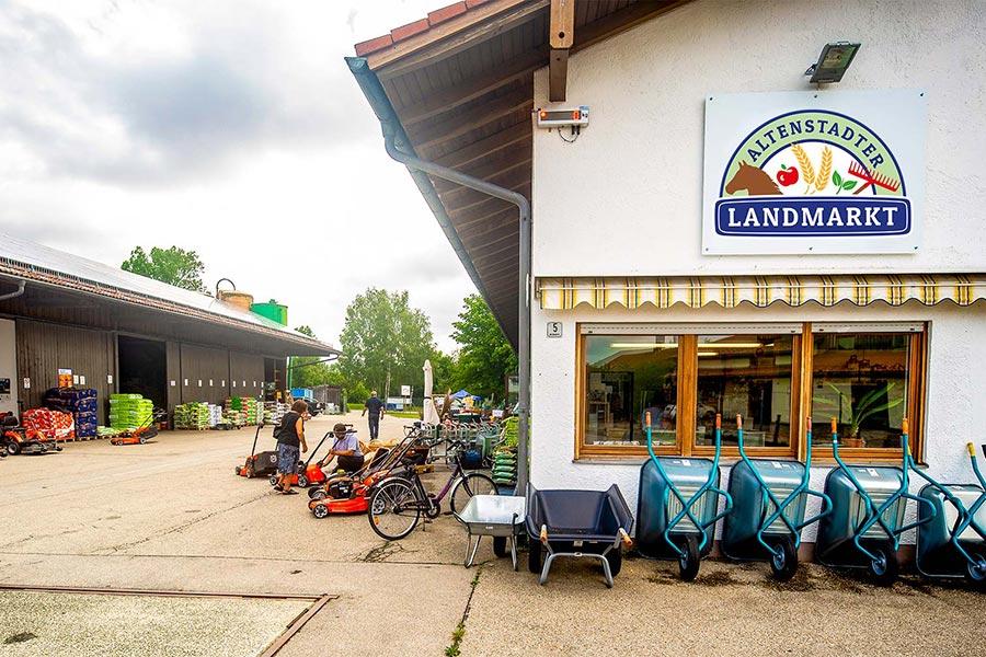Rasenmäher richten in Altenstadt