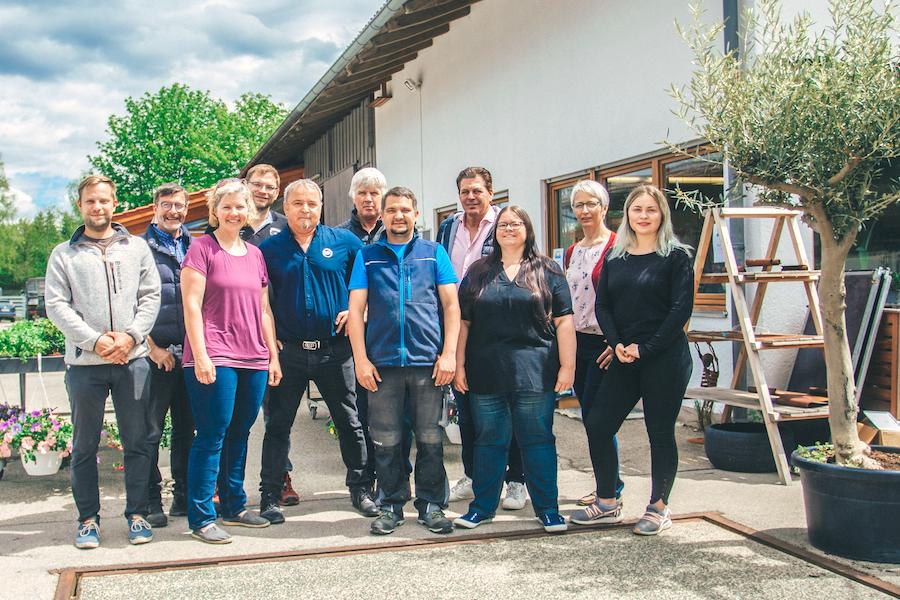 Die Inhaber des Landmarktes in Altenstadt
