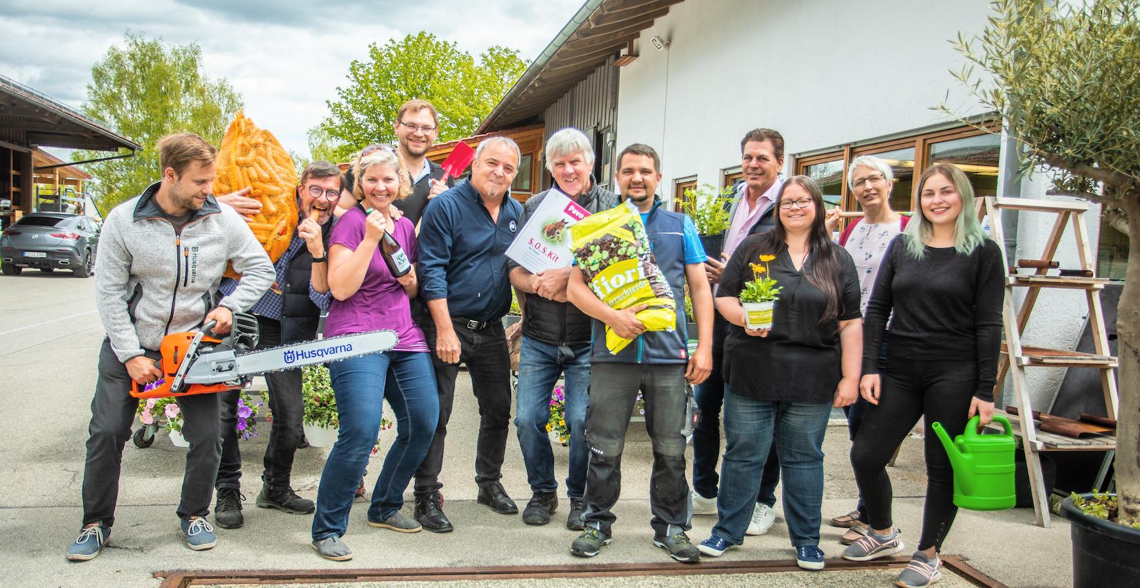 Das Team im Altenstadter Landmarkt